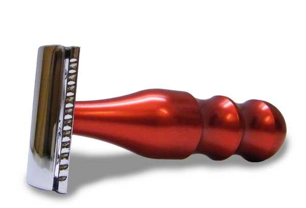 h. Merkur Rasierer - Rot