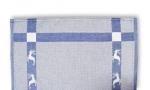 3.Hirsch Küchentücher blau