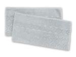 3. Ross Relief Handtuch - Chrom -2er