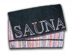 5.Ross - Sauna schwarz/buntmeliert