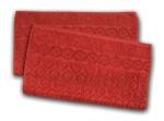 5. Ross Relief Handtuch - Terrakotta -2er