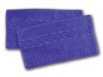 8. Ross Relief Handtuch - Royal -2er