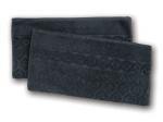 9. Ross Relief Handtuch - Schwarz -2er
